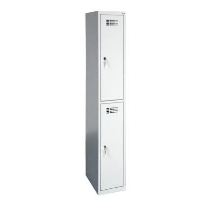 единичен метален гардероб с две отделения SUS 312W