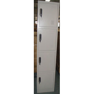 метален шкаф за багаж с 4 врати