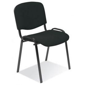 посетителски офис стол Iso black