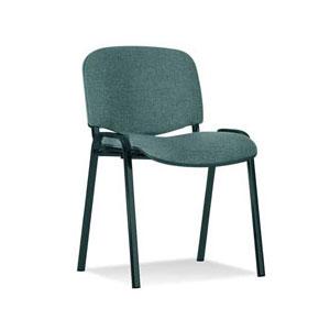 посетителски стол Iso Black сив
