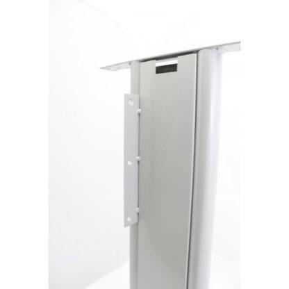 метален крак за бюро - изглед от вътре