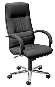 директорски стол Linea Steel черен