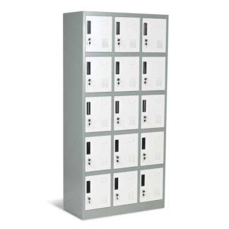 метален шкаф с 15 врати