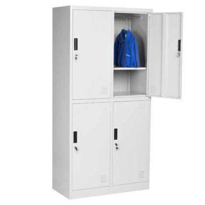 метален гардероб с 4 врати