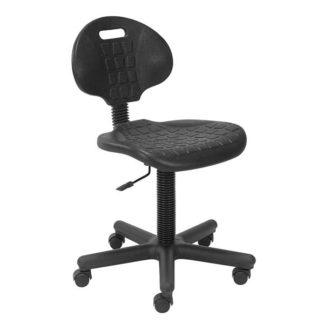 полиуретанов работен стол Negro