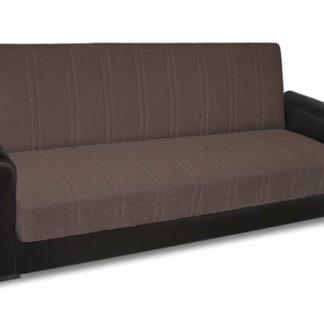 Диван Спринг - тъмен, разтегателен диван