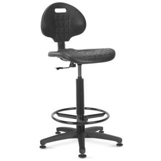 Висок работен стол Nargo Ring Base