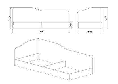 легло Сити 2004 - схема