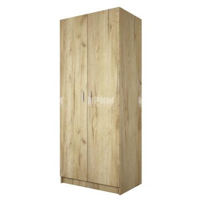 Двукрилен гардероб Сити 1001 дъб гран сасо