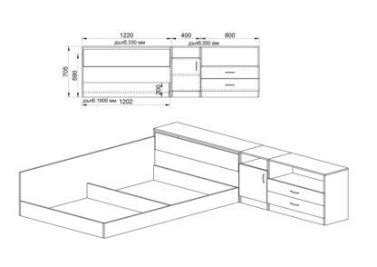 Легло Сити 7003 - схема