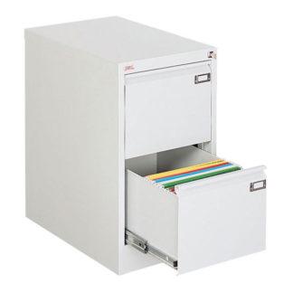 метален кардекс с 2 единични чекмеджета SZK 101