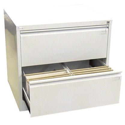 метален кардекс с 2 двойни чекмеджета SZK 102