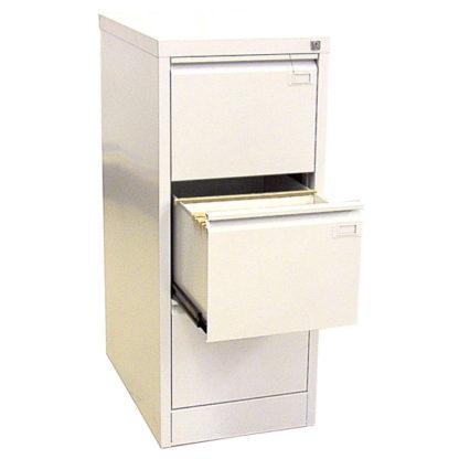 метален кардекс с 3 единични чекмеджета SZK 201