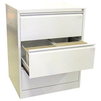 метален кардекс с 3 двойни чекмеджета