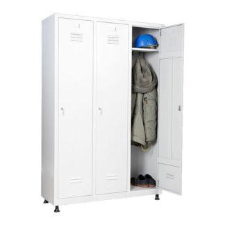 метален гардероб за трима души