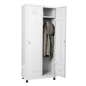 метален шкаф за дрехи за двама души 2метален шкаф за дрехи за двама души 2