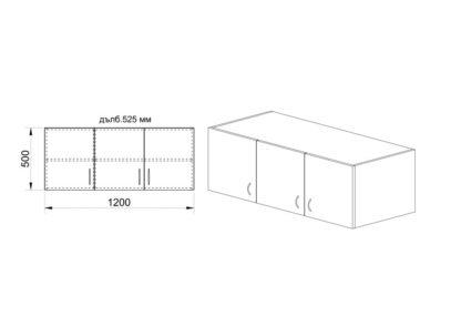Надстройка Сити 1005 -схема