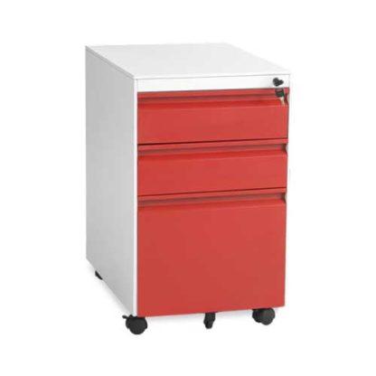 Офис контейнер CR-1249 L Sand - червен