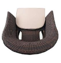 ратанов стол 350- вид на седалката