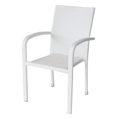 ратанов стол 59 бял