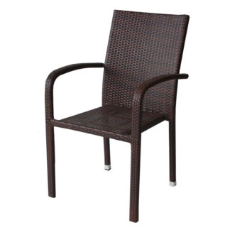 ратанов стол 59 кафяв