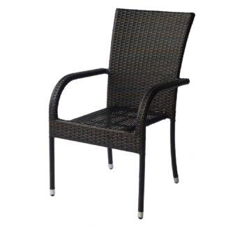 ратанов стол 1778 кафяв