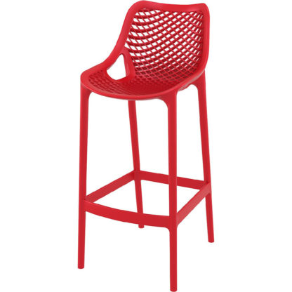 Бар стол Еър червен