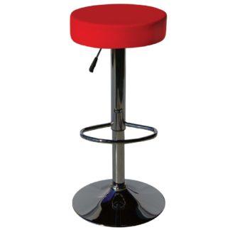 бар стол Калипсо 3 червен