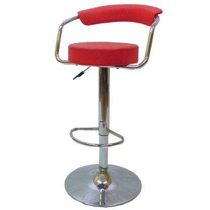 Бар стол Калипсо 7 червен