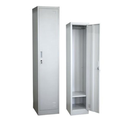 Единичен метален гардероб 30/45/185см