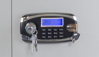 електронна ключалка - изглед отблизо