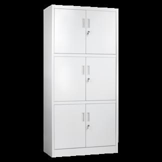 метален шкаф с 6 врати cr-1260-lz