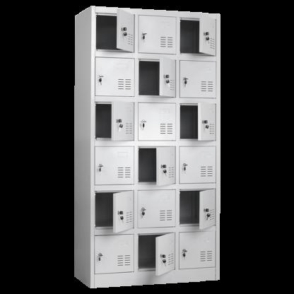 метален шкаф с 18 врати CR-1261-LZ
