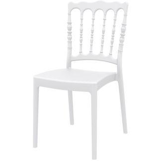 Стол Наполеон бял
