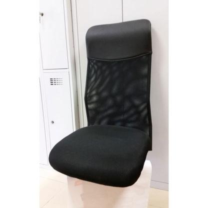 седалка и облегалка черна мрежа