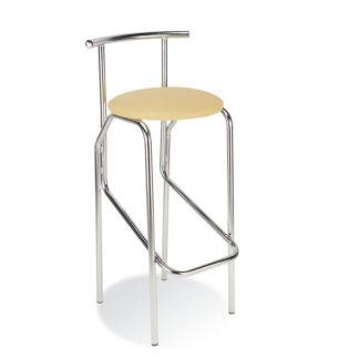 Бар стол Jola бежова еко кожа