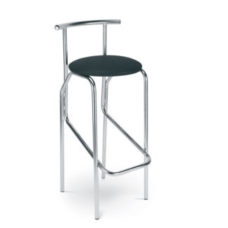 Бар стол Jola черна еко кожаБар стол Jola черна еко кожа