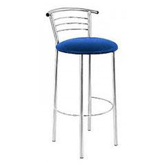 Бар стол Marko Hocker синя еко кожа