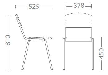 Размери стол Tina