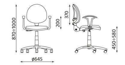 размери стол Smart