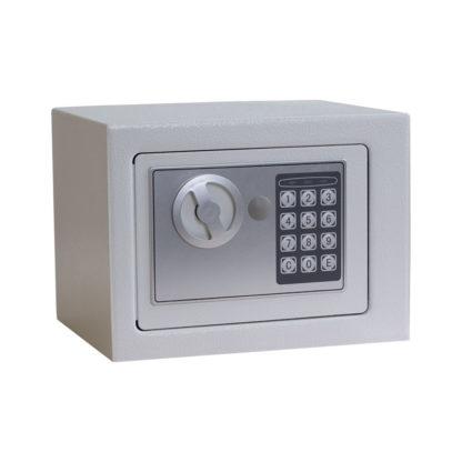 метален сейф cr-1550-3xz бял
