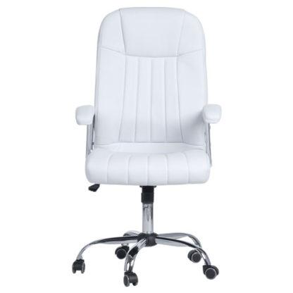 офис стол 6181 цвят бял