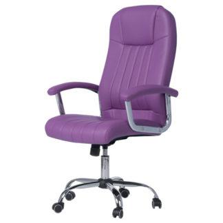 офис стол 6181 цвят лилав