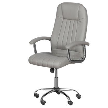 офис стол 6181 цвят сив