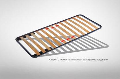 Подматрачна рамка Comfo Prestige - опция 1) метални планки за механизъм за напречно повдигане - таксуват се допълнително