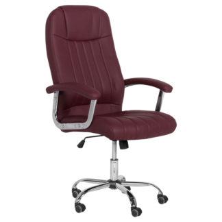 президентски офис стол 6181 цвят бордо