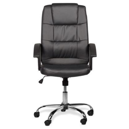 президентски стол 6076 черен -2