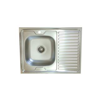 бордова мивка 60x80см EC120D