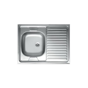 бордова мивка 60x80-EX120