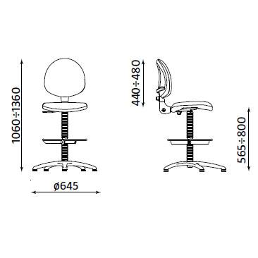 стол smart RB размери